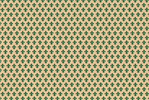 Alkor 3800051 Pellicola Adesiva per Mobili, Effetto Giglio Verde, 45 cm x 2 m