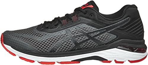 ASICS Hommes's GT-2000 GT-2000 6 FonctionneHommest chaussures, Dark gris noir rouge, 9 M US  nouvelle exclusivité haut de gamme