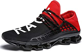 Sports Shoes Breathable Mesh Casual Fashion Slip On Blade Sneakers Cushioning Walking Shoe for Men and Women