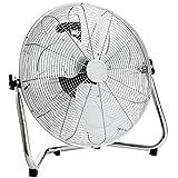 Oypla Electrical 18' Chrome 3 Speed Free Standing Gym Fan