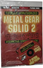 Totally Unauthorized Metal Gear Solid 2: Sons of Liberty Interactive Strategy Guide w/ 2 CDs (Totally Unauthorized)
