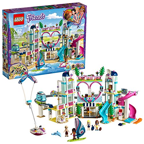 Product Image of the LEGO Friends Heartlake City Resort 41347 Top Hotel Building Blocks Kit for Kids...