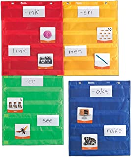 Learning Resources Magnetic Pocket Chart Squares, Classroom/Teacher Organizer, All Grades, Set of 4 - coolthings.us