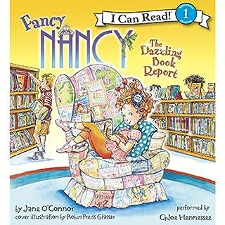Fancy Nancy: The Dazzling Book Report audiobook cover art