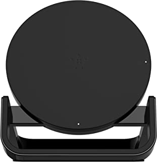 Belkin Boostup Wireless Charging Stand for Apple/Samsung/LG/Sony, 10W, Black