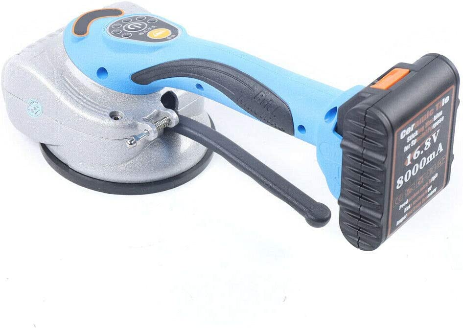 Gdrasuya10 Automatic Leveling Machine Tool Handheld Tiling Tiler Tile Vibrator Floor Wall Tiles Plaster Laying Machine for Engineering /& Home Use 1 Battery Included