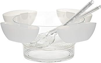 وعاء اكريليك بتصميم دائري من هارموني، شفاف