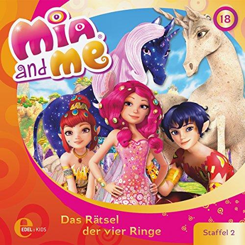 Das Rätsel der vier Ringe (Mia and Me 18) Titelbild