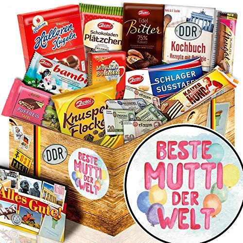 Beste Mutti - Ostalgie Set Schoko - Geschenkidee Mutti