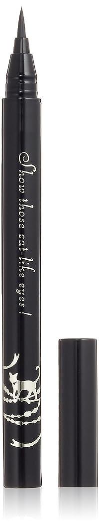 浸食チャレンジバックインテグレート キャットルック リキッドライナー BK999 漆黒 (ウォータープルーフ) 0.5mL