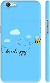 Colorpur Oppo A57 Cover - Be Happy Printed Back Case