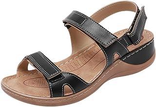 comprar comparacion YWLINK Sandalias De Talla Grande para Mujer Zapatos De Playa con Punta Abierta De Verano Sandalias Deportivas Antideslizan...