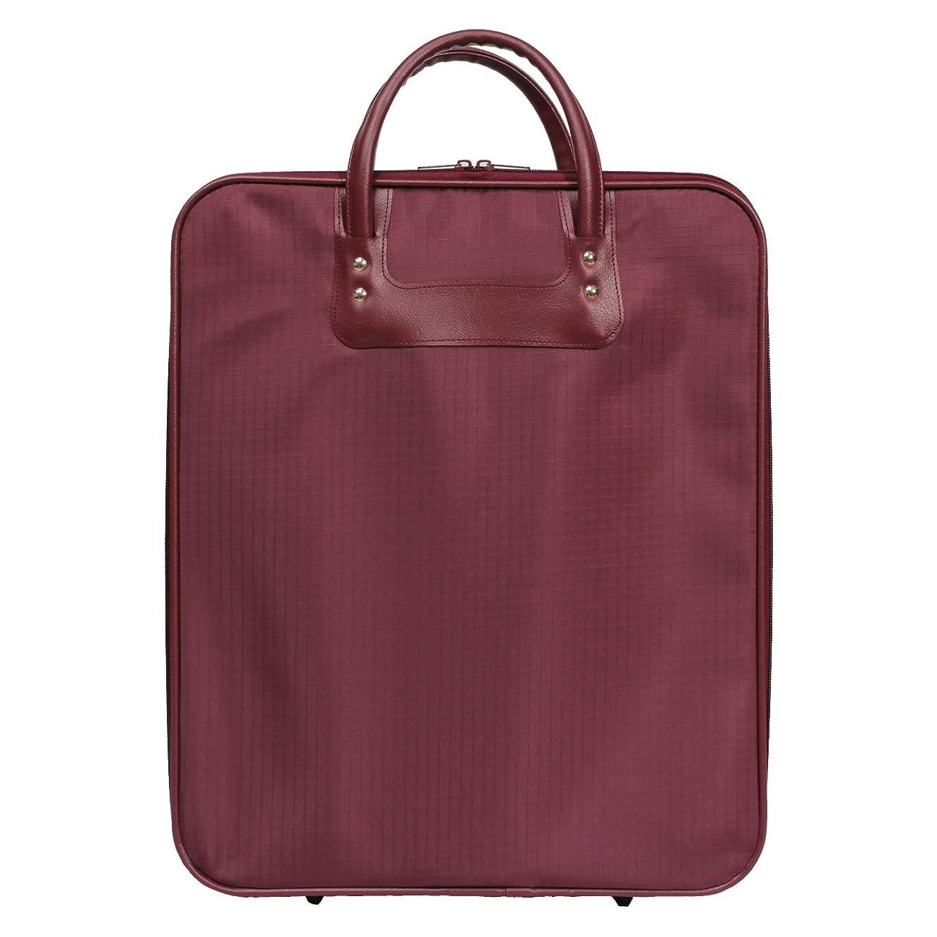 不合格無駄なオプション着物 (きもの) 収納 和装 ケース バッグ エンジと紺の2色展開 日本製