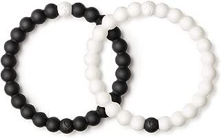Lokai Black & White Bracelet Pair