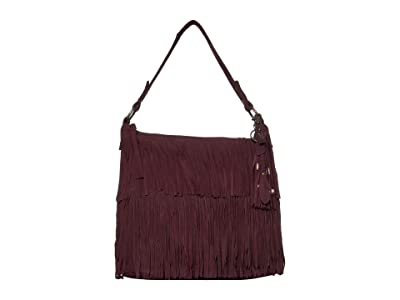 FRYE AND CO. Phoebe Hobo (Wine) Hobo Handbags