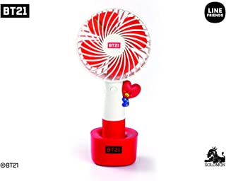【30 【公式】 BT21 LED 携帯扇風機 2019年 BT21 LED HANDY FAN (TATA)