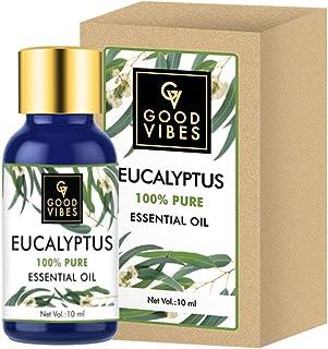 Good Vibes 100% Pure Eucalyptus Essential Oil (10 ml)