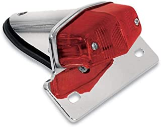 Emgo Lucas-Style Taillight with Chrome Bracket 62-21521