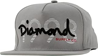 Best diamond snapback grey Reviews
