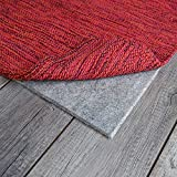 RUGPADUSA, Natural Comfort, 9'x13', 1/4' Thick, 100% Felt, Premium Cushioned Rug Pad, Available in 2 Thicknesses, Many Custom Sizes