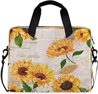 Yulife Laptop Bag Sleeve Case for Women Men Briefcase Tablet Bag with Strap