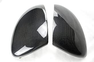 Eppar New Carbon Fiber Mirror Covers Compatible with Porsche Cayenne 958 2011-2014