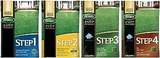 Scotts Complete 4 Step Lawn Program - 5,000 Sq. Ft. Complete Program