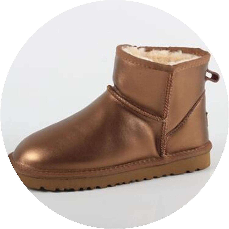 Winter shoes Men Boots Ankle bota Masculina Leather Man shoes rain Snow Boot Plus Size