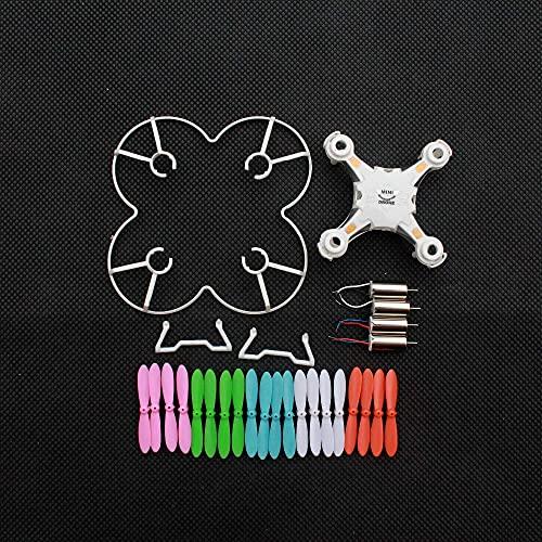Accessori per droni Motore Corpo Principale Lame a Conchiglia Proteggono la Copertura Parti di Ricambio per Fq777-124 Pocket Drone Fq777 124 Rc Drone-(Colore:Blue Shell)