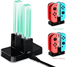 Joy-Con Charging Dock for Nintendo Switch, OIVO Joy con Controller Charging Station for Nintendo Switch- USB C Cable Included