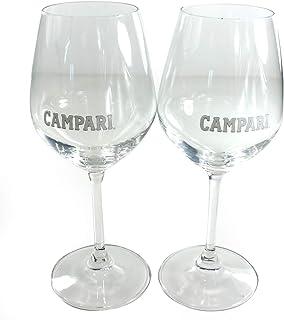 Campari Cocktail Gläser x 2 | Gin Spritz Tocco Balloon Glass Aperitiv Stielglas 6i3r
