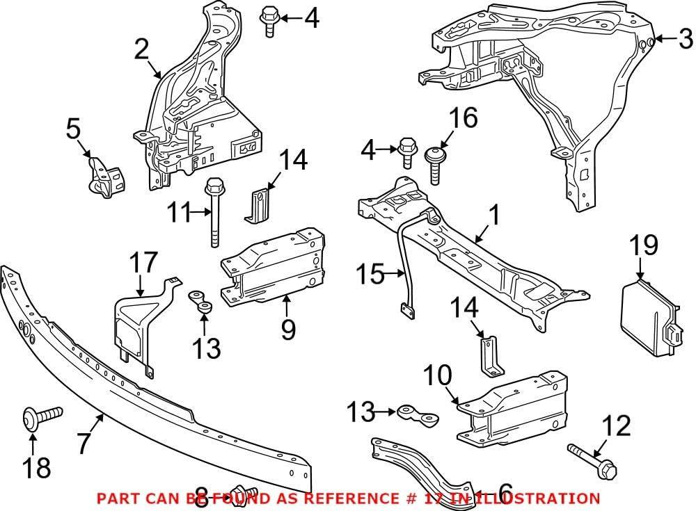 Genuine OEM Hood Latch Support for mart Super-cheap Mercedes 2126200900 Bracket