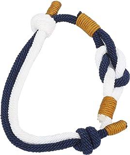 BOLORAMO Bracelet tissé à la Main, la Longueur du Bracelet est Ajustable pour la Plupart des Poignets Bracelet de Couple t...