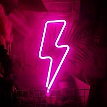 Neon-lichtschilden, LED-flitsteken vormgegeven, LED-licht, neonlicht decoratief licht, batterij/USB-voeding, decoratie voo...