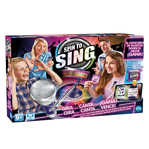 Spin to Sing-41393 The Talent Show Game, (Cife 41393)