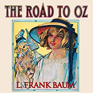 The Road to Oz audiobook cover art