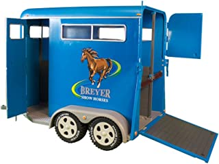 Breyer Traditional Series Two-Horse Trailer Toy (1: 9 Scale), Multicolor