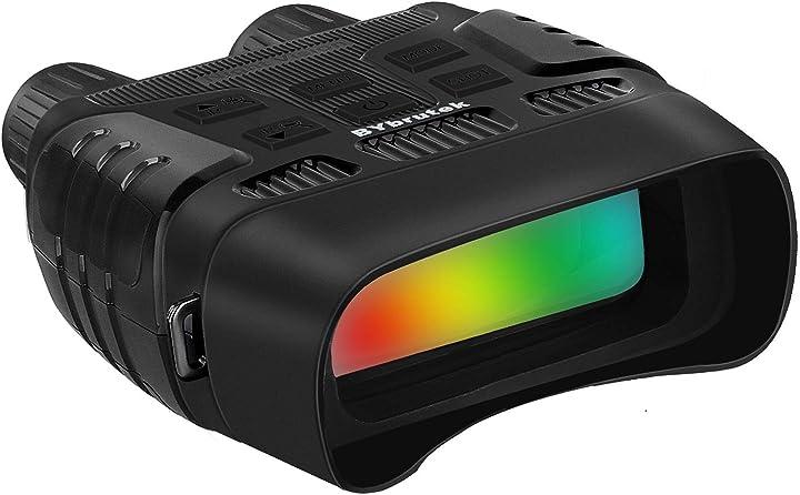 Binocolo di visione notturna infrarosso, lcd da 2,31 pollici, foto da 1mp/video da 960p bybrutek BY-NV3180