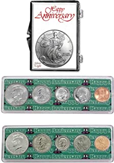 1999-2019 - 20th Anniversary Coin Gift Package American Silver Eagle Uncirculated