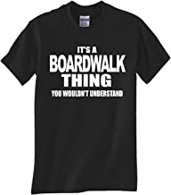 Boardwalk Thing Black T Shirt