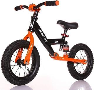 LIMUZI 30 cm barn balanscykel lätt för åldrarna 3 till 6 år 30 kg kapacitet justerbar träning cykel för barn och småbarn i...