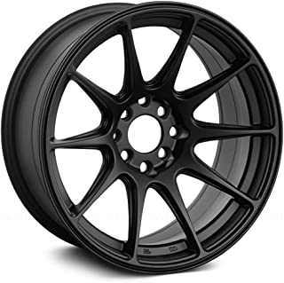 XXR 527 Flat Black Wheel with Painted (16 x 8. inches /4 x 100 mm, 20 mm Offset)