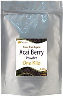 CurEase Acai Berry Powder Organic Freeze Dried Kilo 1kg (2.2lbs)