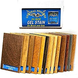 General Finishes Oil Based Gel Stain Color Samples (Chip Box)