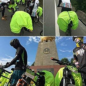 61At3CTRUKL. SS300  - auvstar Funda Impermeable para Asiento Trasero de Bicicleta, Funda Impermeable para Bolsas de Viaje, Bolsa para Maletero, Bolsa para Mochila, Bolsa de Equipaje y alforja