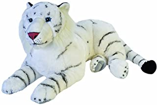 Wild Republic Jumbo White Tiger Giant Plush Soft Toy, Gifts for Kids, 76 cm
