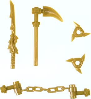 LEGO Ninjago Gold Weapons Set (Minifigures)