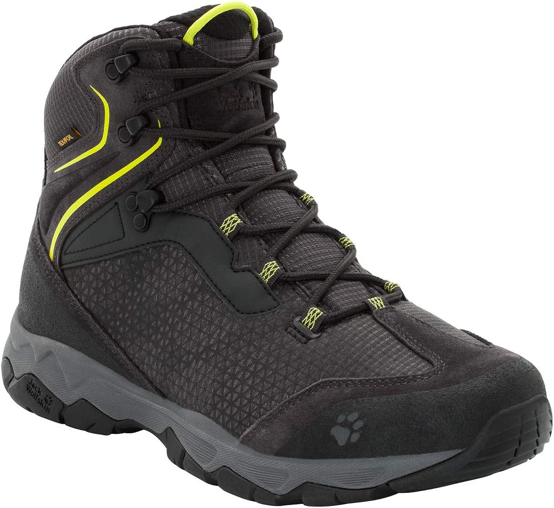 Jack Wolfskin Mens Rock Hunter Texapore Mid Men's Waterproof Hiking Boot