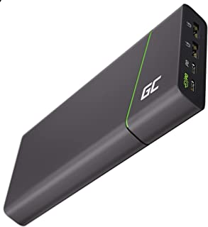 Green Cell Powerbank GC PowerPlay Ultra 26800mAh 128W | 4 Port Externer Akku mit Schnellladefunktion QC USB, Power Delivery USB C 65W | Kompatibel mit Laptop, MacBook, iPad, iPhone, Galaxy, Switch