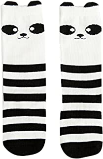 Enfants Enfants Filles Cute Cartoon Fox Panda Coton Hautes Chaussettes pour Bébé